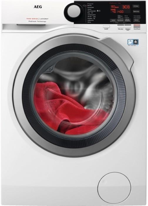 Pračka předem plněná Pračka s předním plněním AEG ProSteam L7FBE48SC, A+++, 8 kg, Doživotní prodloužená záruka na motor ÖKOInvertor po registraci na www.aeg.cz