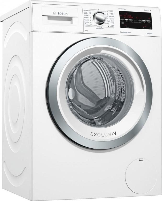 Pračka předem plněná Pračka s předním plněním Bosch WAT28490BY, A+++-30%, 8 kg
