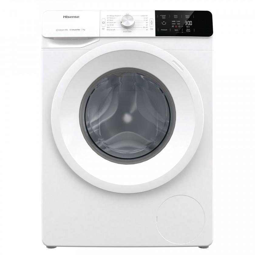 Pračka předem plněná Pračka s předním plněním Hisense WFGE70141VM/S, A+++, 7kg