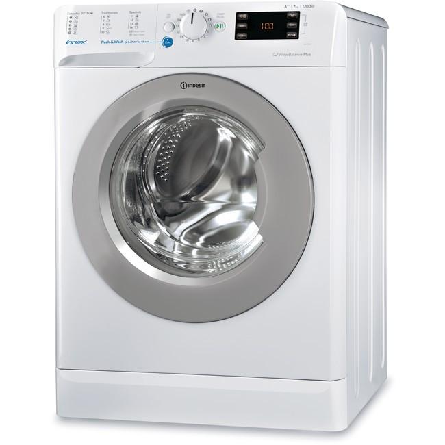 Pračka předem plněná Pračka s předním plněním Indesit BWE 71253X WSSS EU, A+++, 7 kg
