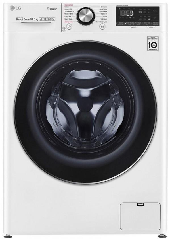 Pračka předem plněná Pračka s předním plněním LG F4WV910P2, A+++, 10,5kg
