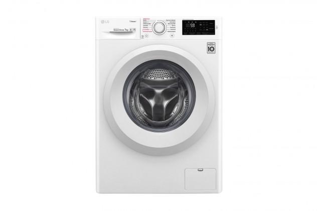 Pračka předem plněná Pračka s předním plněním LG F72J5HY3W, A+++, 7 kg