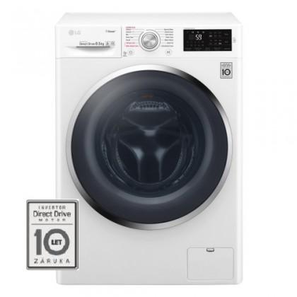 Pračka předem plněná Pračka s předním plněním LG F84J6EY2W, A+++-20%, 8,5 kg