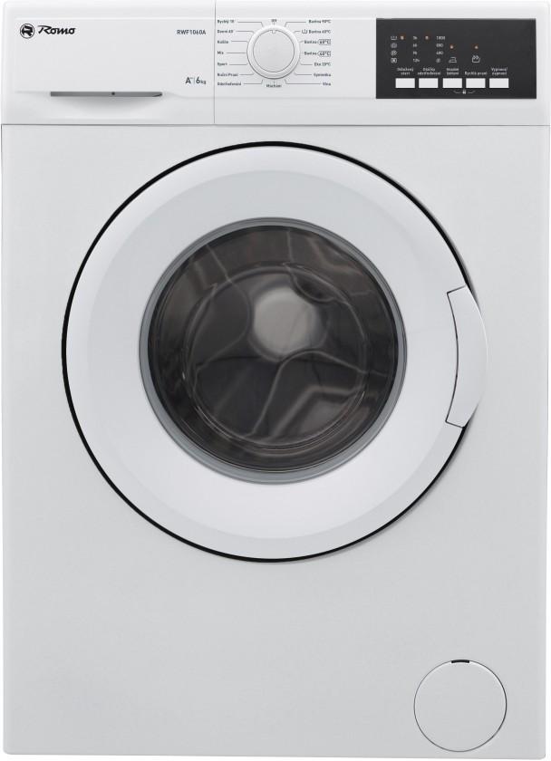 Pračka předem plněná Pračka s předním plněním RWF1060A, A++, 6kg