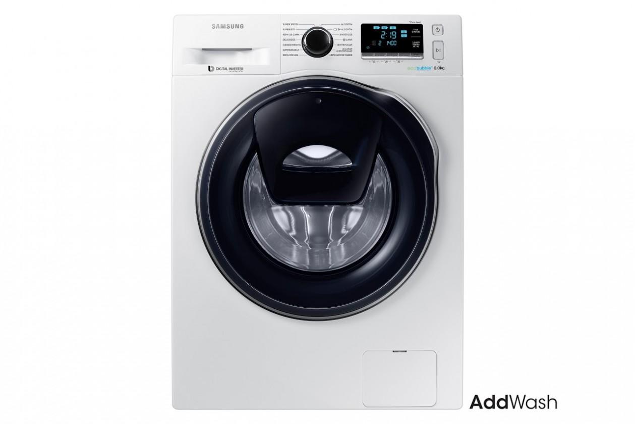 Pračka předem plněná Pračka s předním plněním Samsung WW80K6414QW, A+++, 8kg