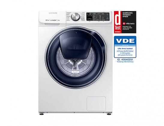 Pračka předem plněná Pračka s předním plněním Samsung WW90M649OPM, A+++-40%, 9 kg