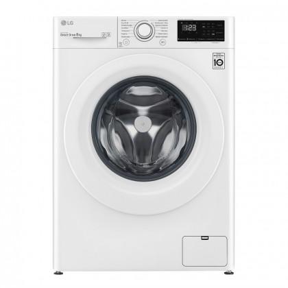 Pračka s předním plněním LG F48V3TN3W, 8kg