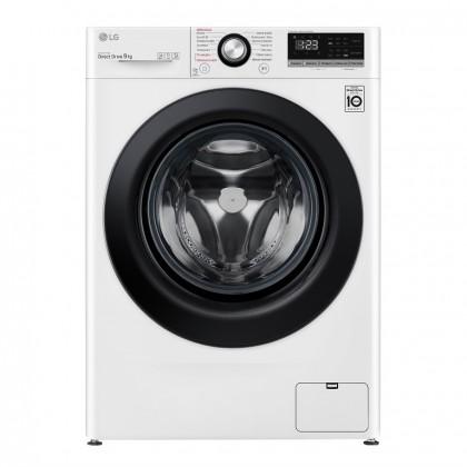 Pračka s předním plněním LG F49V3VW6W, B, 9kg