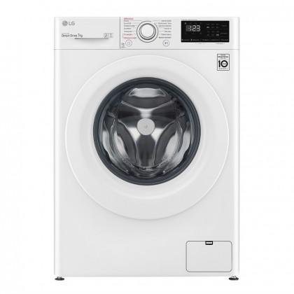 Pračka s předním plněním LG F72J5HY3WE, 7 kg