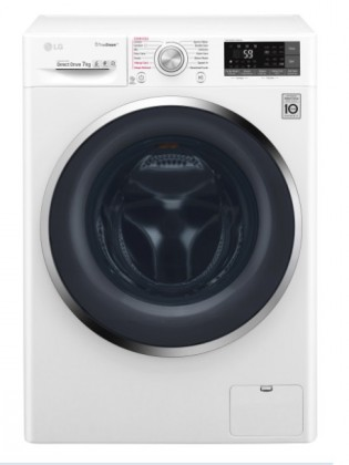 Pračka s předním plněním LG F72J8HS2W, A+++-10%, 7 kg