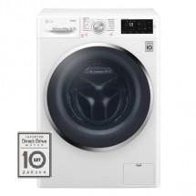 Pračka s předním plněním LG F84J6EY2W, A+++-20%, 8,5 kg + rok praní zdarma