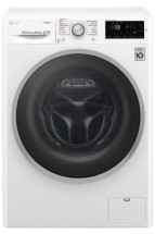 Pračka s předním plněním LG WD62J6WY1W, A+++-20%, 6,5 kg