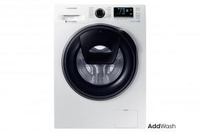 Pračka s předním plněním Samsung WW80K6414QW, A+++, 8 kg