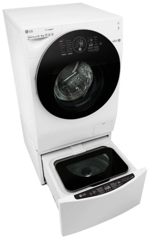 Pračka se sušičkou Mini pračka LG F28K5XN3, 2 kg, TwinWash mini