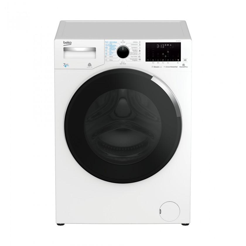 Pračka se sušičkou Pračka se sušičkou Beko HTE7746X0, A, 7/4 kg