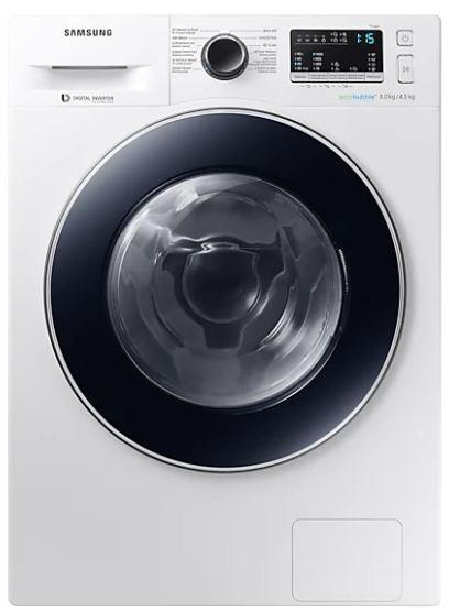 Pračka se sušičkou Pračka se sušičkou Samsung WD80M4A43JW, A, 8/4,5 kg