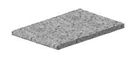 Pracovní deska PD 40 (3MOB - Mosaik brown)