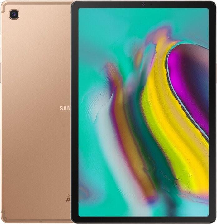 Pracovní tablet Tablet Samsung Galaxy Tab S5e SM-T725NZDAXEZ 64GB LTE Gold