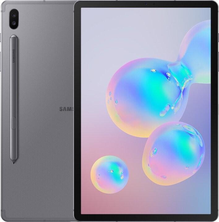 Pracovní tablet Tablet Samsung Galaxy Tab S6 10.5 SM-T865NZAAXEZ 128GB LTE Gray