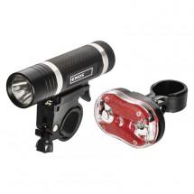 Přední + zadní svítilna na kolo Emos P3920, LED, 5x AAA