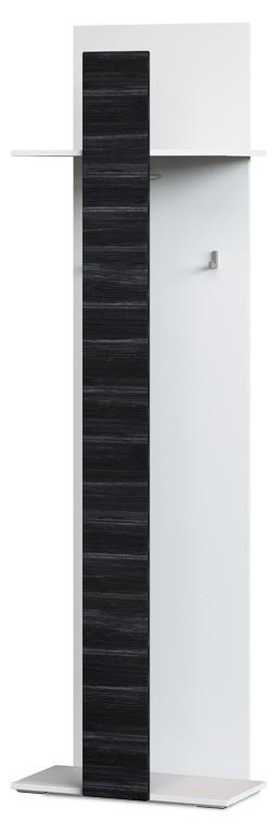 Předsíně ZLEVNĚNO Denver Typ 13 (bílá artic/černá strukturovaná)
