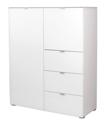 Předsíňová skřín GW-Primera - skříň, 2x dveře, 3x šuplík (bílá)