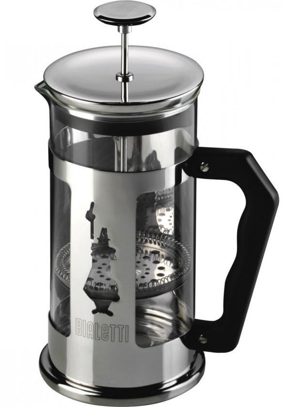 Překapávač kávy Bialetti french press 0,35 l, nerez, panáček