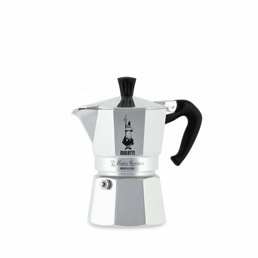 Překapávač kávy Bialetti Moka Express 3, stříbrná