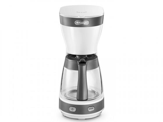 Překapávač kávy Kávovar na překapávanou kávu DeLonghi ICM16210.WS