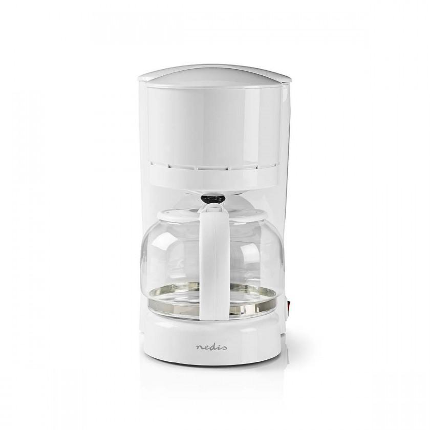 Překapávač kávy Kávovar Nedis KACM110EWT, bílý