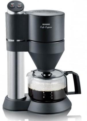 Překapávač kávy Kávovar Severin KA5703, černá/nerez