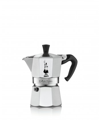 Překapávač kávy Moka konvička Bialetti Moka Express 4