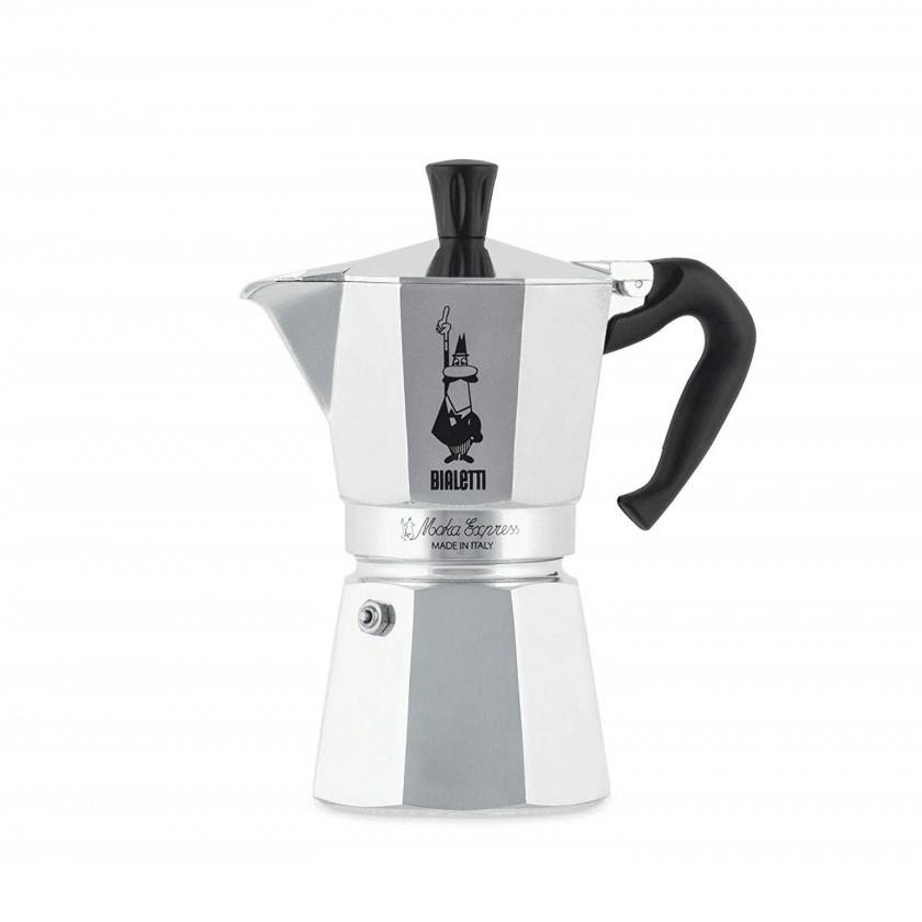 Překapávač kávy Moka konvička Bialetti Moka Express 6