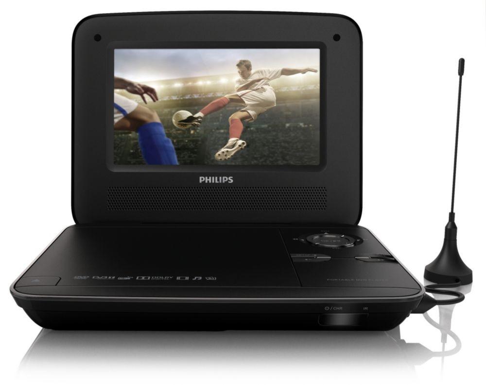 Přenosné DVD Philips PD7015/12