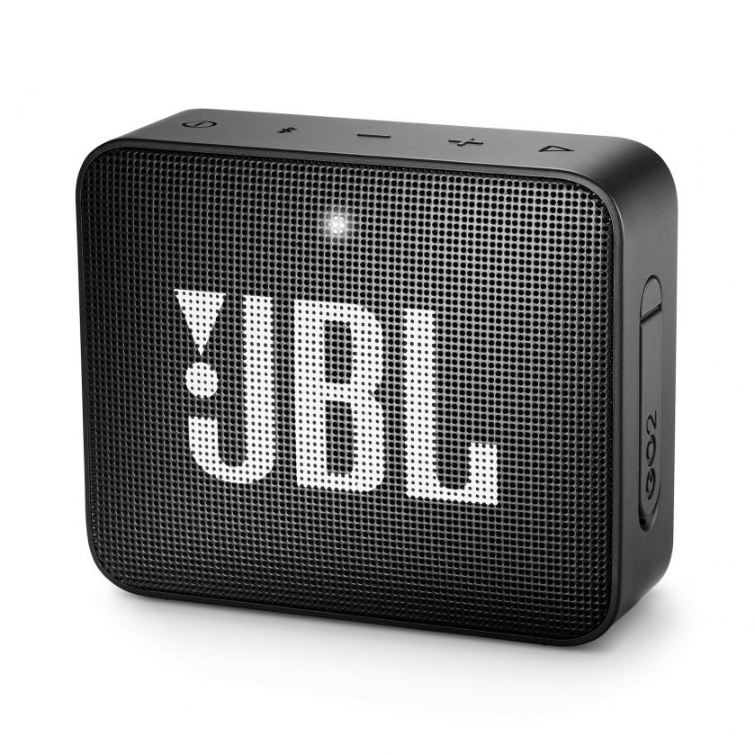 Přenosný reproduktor Bluetooth reproduktor JBL GO 2, černý
