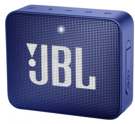 Přenosný reproduktor Bluetooth reproduktor JBL GO 2, modrý
