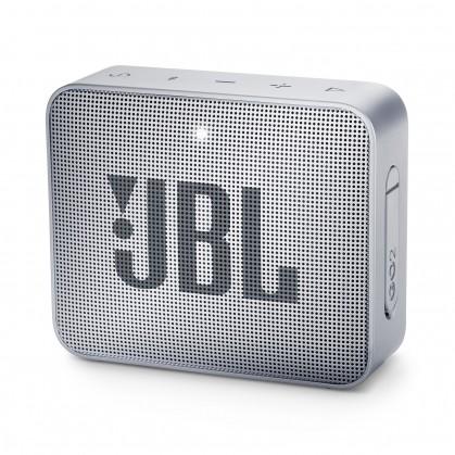 Přenosný reproduktor Bluetooth reproduktor JBL GO 2, šedý