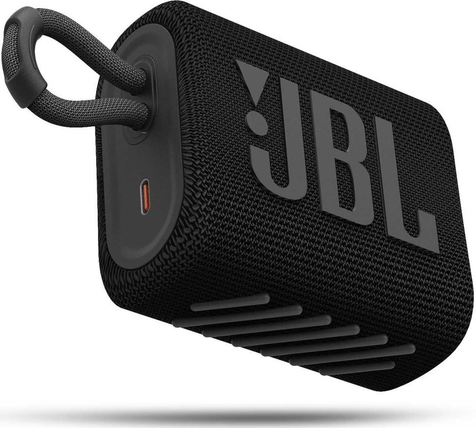 Přenosný reproduktor Bluetooth reproduktor JBL GO 3, černý