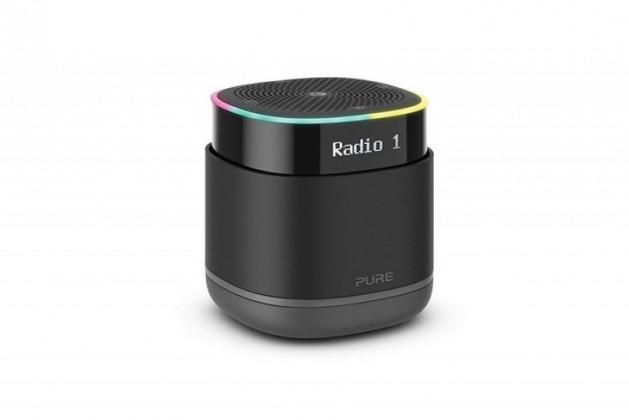 Přenosný reproduktor Bluetooth reproduktor PURE StreamR, černý