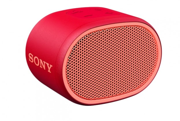 Přenosný reproduktor Bluetooth reproduktor Sony SRS-XB01, červený