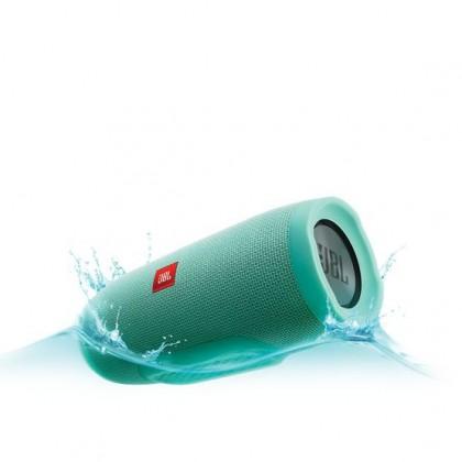 Přenosný reproduktor JBL Charge 3 modrozelený