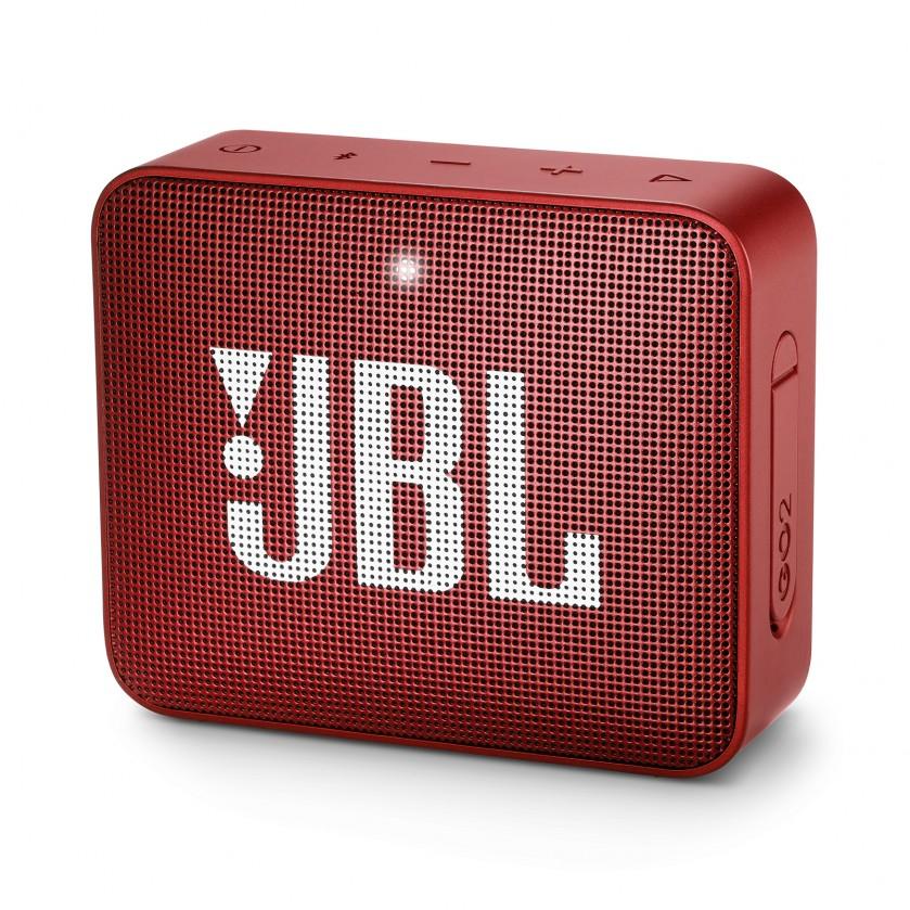 Přenosný reproduktor Přenosný reproduktor JBL Go 2 červený