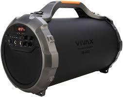 Přenosný reproduktor Vivax Bluetooth Reproduktor BS-201 Black