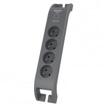 Přepěťová ochrana Philips SPN3140A/60, 4 zásuvky, 2m