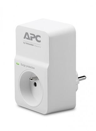 Přepětová ochrana Přepěťová ochrana APC PM1WFR, 1 zásuvka, bílá