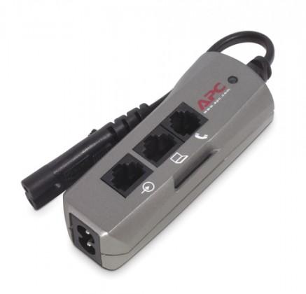Přepětová ochrana Přepěťová ochrana APC PNOTEPROC8-EC, 1 zásuvka, vypínač