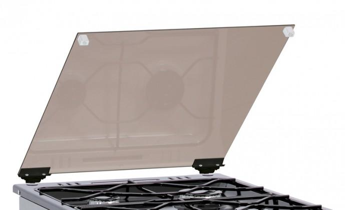 Příklop skleněný Mora 254222 černý, ke sporákům š. 50cm