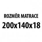 Prima DUO XXL - Matrace (200x140x19)