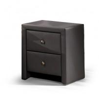 Prima - Noční stolek (černá)