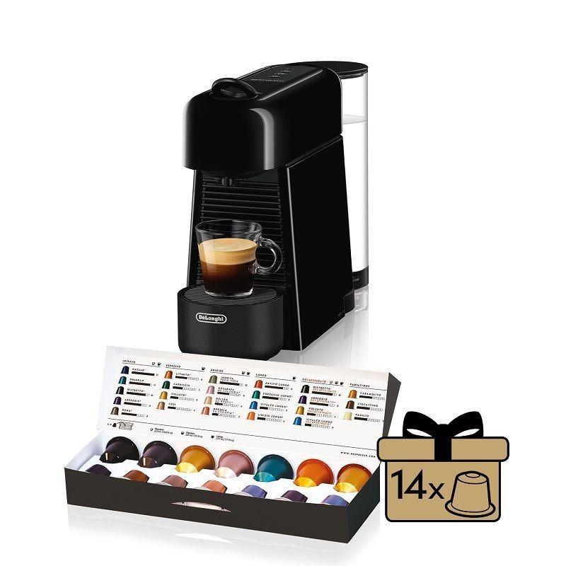 Příprava kávy ZLEVNĚNO Kapslový kávovar De Longhi EN200.B